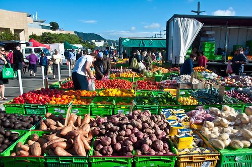 Budget Travel In New Zealand - Markets In Wellington