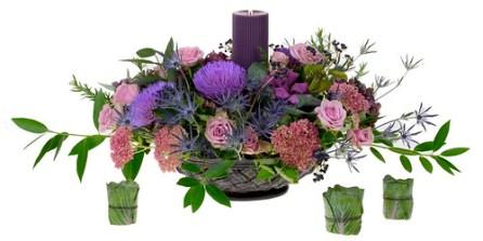 Moody Sky — Leanne and David Kesler, Floral Design Institute, Inc., in Portland, Ore.