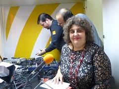 În așteptarea unui interviu la Radio România Cultural, 19 noiembrie 2014