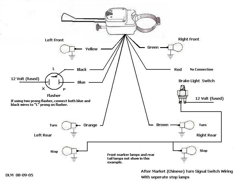 Pm Model 500 Turn Signal Wiring Diagram Wiring Schematic Diagram