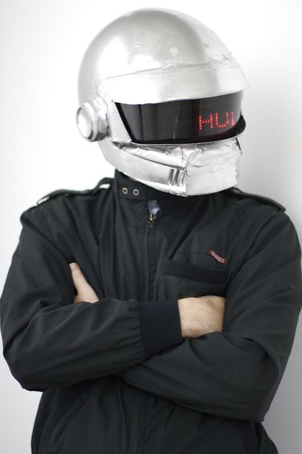 App Screen Daft Punk Costume (thomas) | Flickr - Photo Sharing!