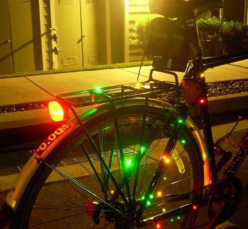 Christmas lights: Drive Side