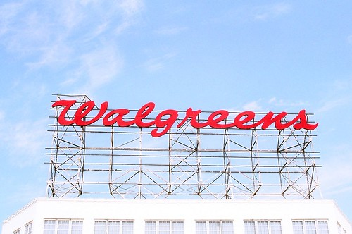 Walgreens Sign Miami