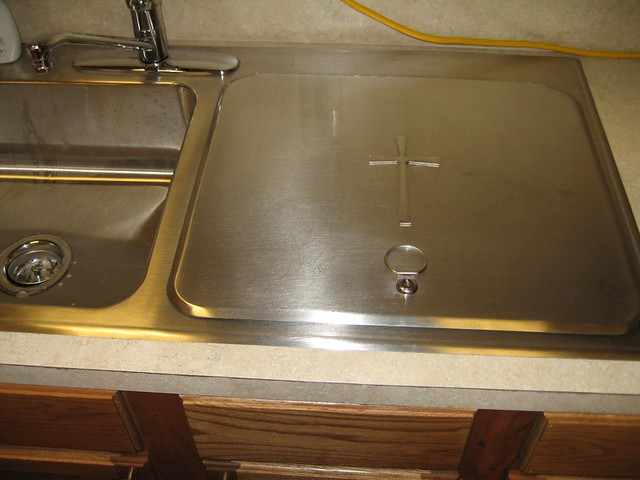 What Is A Farm Sink Weird Sink In Sacristy | Flickr - Photo Sharing!