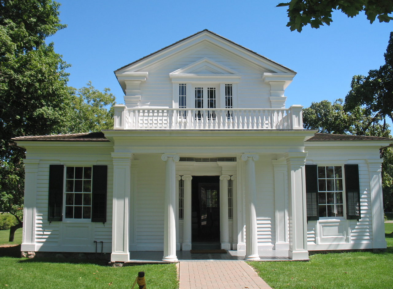 Greek Revival Farmhouse Architecture Greenfield Village Greek Revival House A Photo On