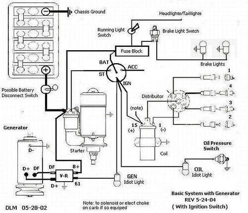 Universal Ignition Switch Wiring Diagram Online Wiring Diagram