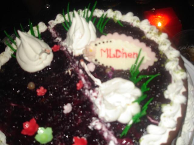 MLChen 生日蛋糕