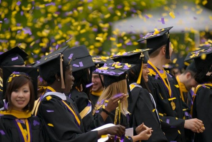 Confetti - Undergrad Graduation