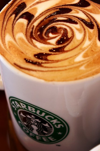 Caramel Hazelnut Latte