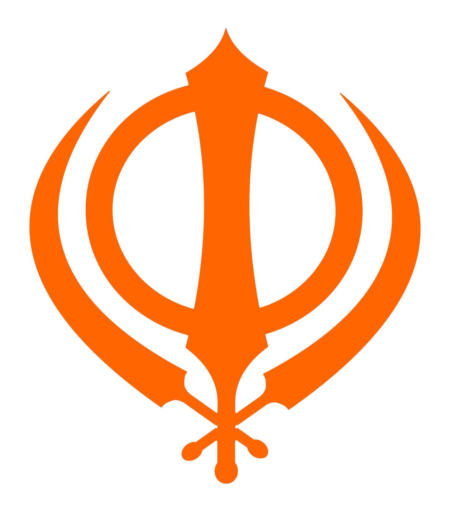 Ek Onkar Hd Wallpaper Sikh Symbol Simple Orange Khanda Flickr Photo Sharing