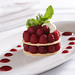 Pemberton raspberry napoleon with hazelnut sablé
