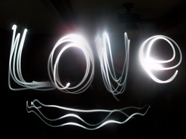 """Love"" Light Graffiti"