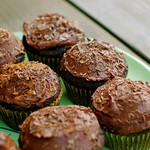 Vegan Coffee Mocha Cupcakes