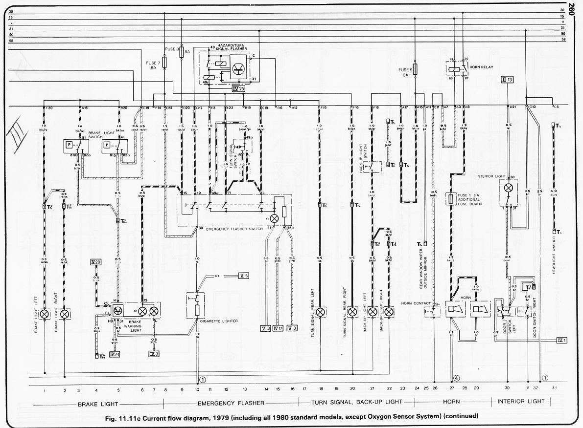 porsche 924 starter wiring