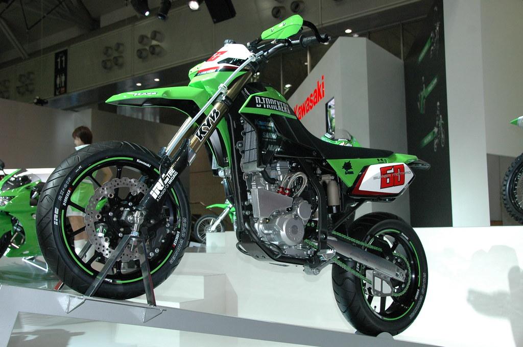 Kawasaki D-Tracker racer - a photo on Flickriver