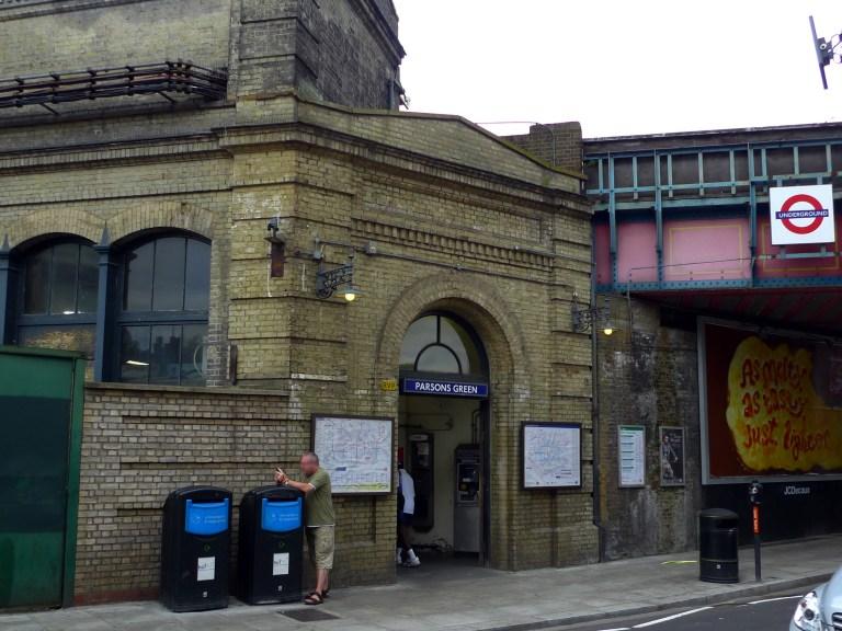 Cтанция метро «Парсонс Грин» в Лондоне