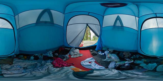 Sziget 2008: Tent Interior