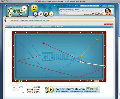 CueTable Billiard Diagram Software - 3 Cushion Billiard Ve\u2026 Flickr