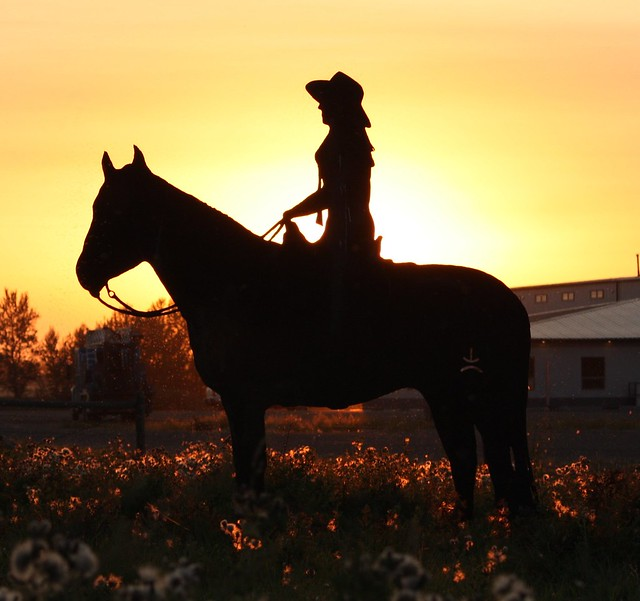 Cute Girl Background Wallpaper Cowgirl Sunset Flickr Photo Sharing