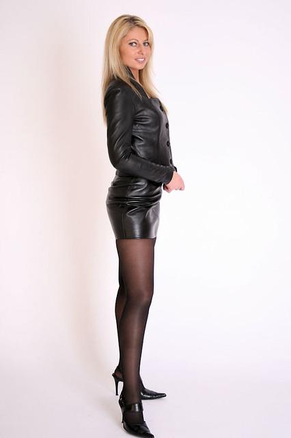 Girl Skirt Wallpaper Leather Girls A Gallery On Flickr