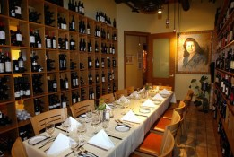 The Mama Paola Wine Room seats 12