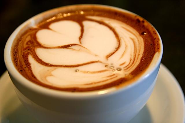 Gourmet Hot Cocoa Lotus Leaf Madcap Cafe 7-1-09 -- IMG_7680