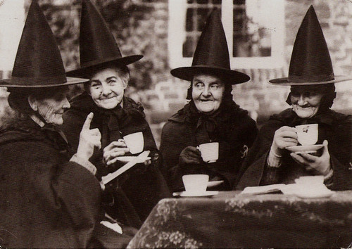Witches Party! Postcard art collection