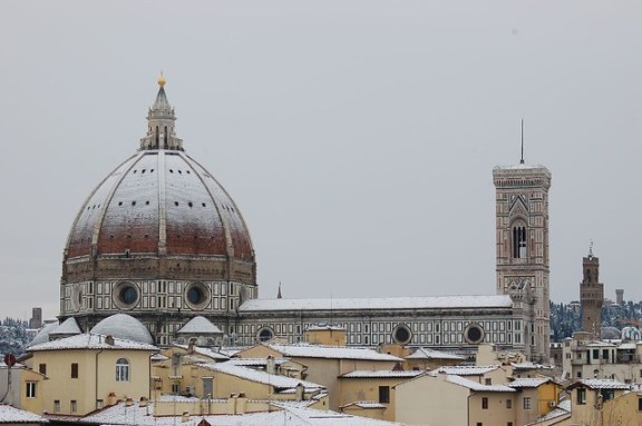 Duomo in Snow