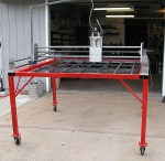 CNC Three Axis Router Plasma Cutting Table By N Monteleone Flickr