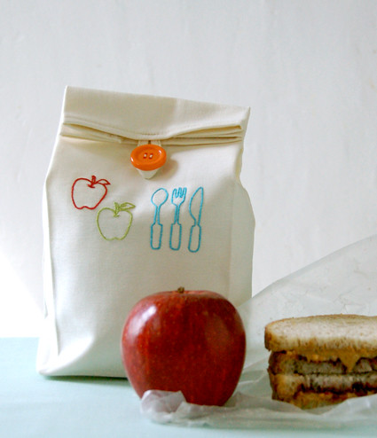Molly's Sketchbook: Back to School Lunch Bag