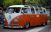 VW bus rag top and roof rack | Flickr - Photo Sharing!