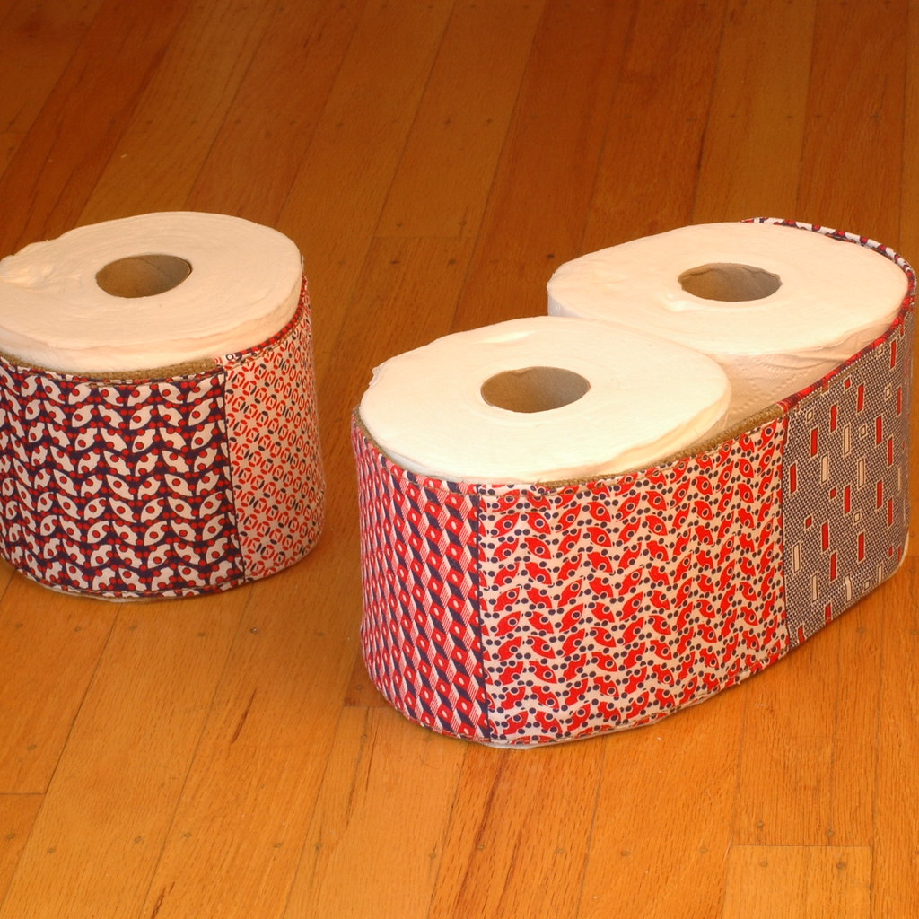 Covered Toilet Paper Storage Toilet Paper Cozy A Toilet Paper Roll Holder And Cover