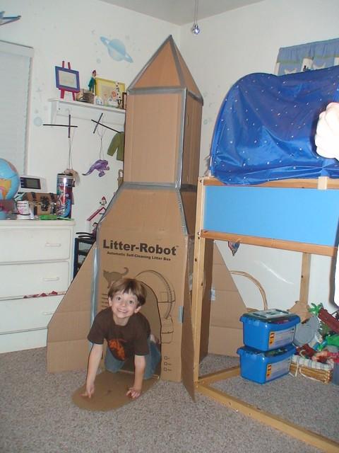 Litter Robot Rocket Ship