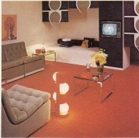 1970s Living Room - a photo on Flickriver