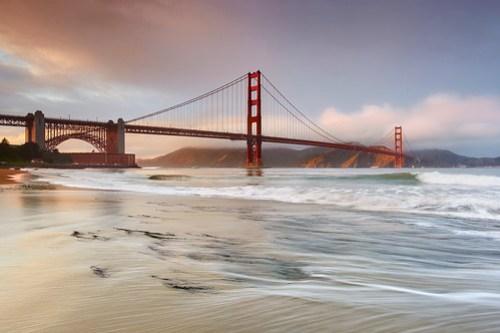 Light on the Marin Headlands - San Francisco, California