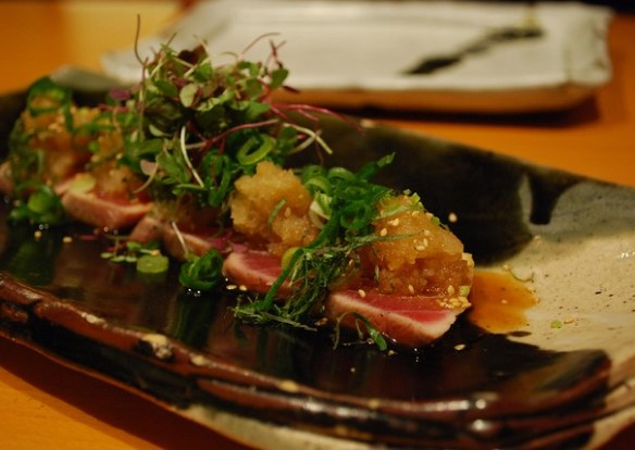 Seared Tuna with Soy Citrus Sauce - Azuma Chifley AUD16 - by Julia