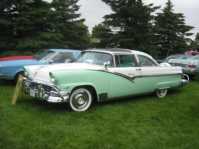 1957 Cars Restored Or Wallpapers 1956 Ford Crown Victoria Glass Top Flickr Photo Sharing