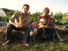 The Morrison Family at the first ever Okanagan Feast of Fields