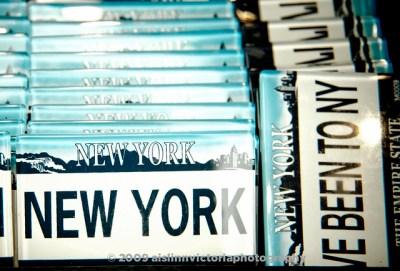 New York Souvenir License Plates