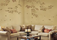 Wall Art Reusable Wall Stencils. Sycamore Branches and ...