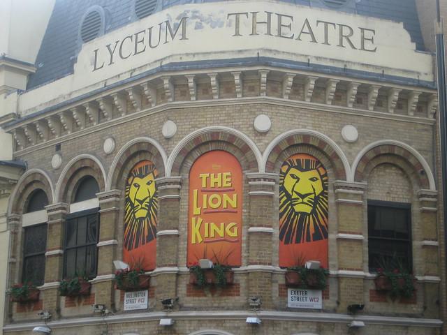 the lion king london theatre breaks