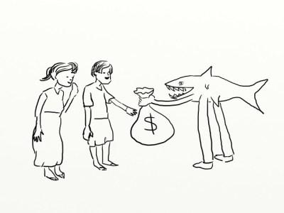Loan shark definition/meaning