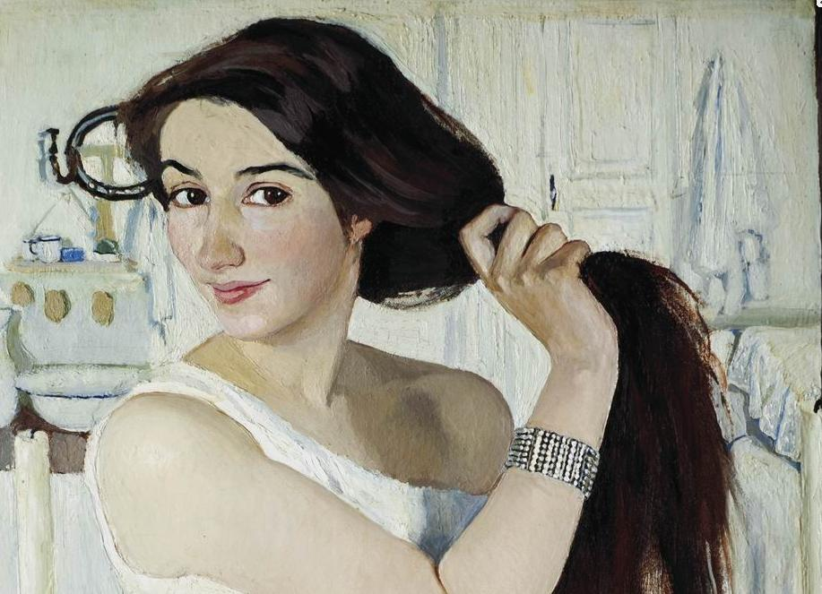 Serebryakova Zinaida Yevgenyevna At The Dressing Table