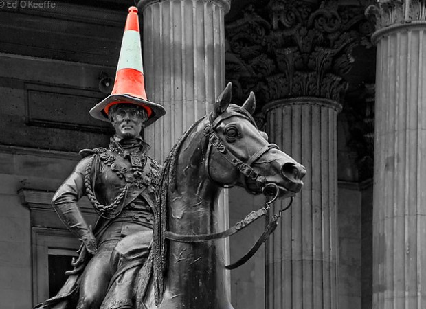 THE DUKE OF WELLINGTON GLASGOW, THINGS I LOVE ABOUT GLASGOW