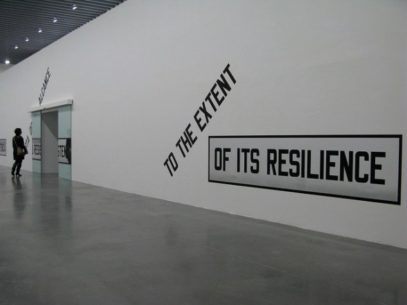 Lawrence Weiner 'Under The Sun' EACC Castelló