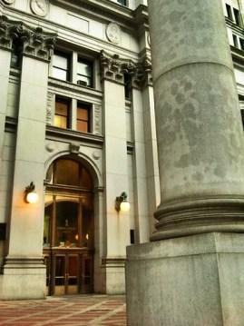 Column, Municipal Building, NYC