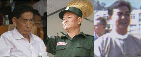 Peng Jiafu, Bao Youxiang and Sai Leun aka Lin Mingxian