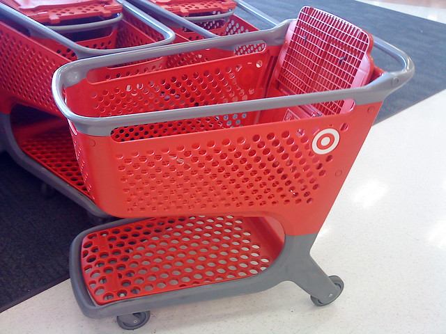 Wish MY Target Had Playmobil-Lookin' Carts!