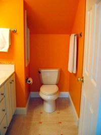Bright Orange Bathroom | Flickr - Photo Sharing!