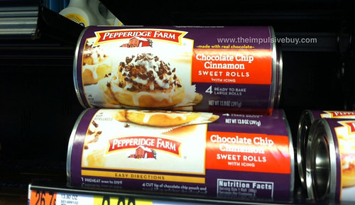 Pepperidge Farm Chocolate Chip Cinnamon Sweet Rolls